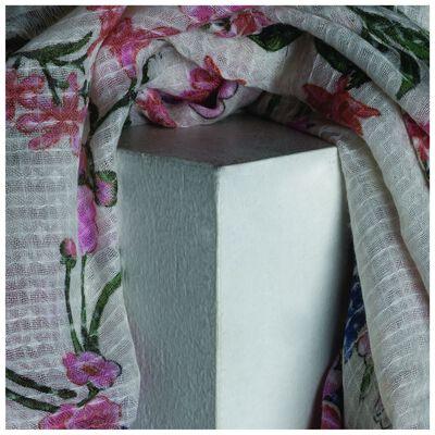 Old Khaki Natasha Floral Scarf