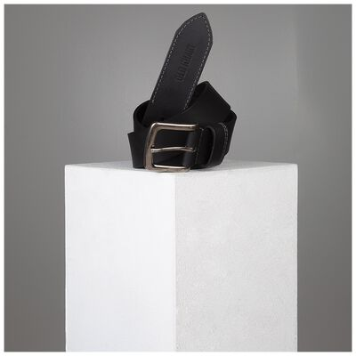 Talon Stitch Detail Leather Belt