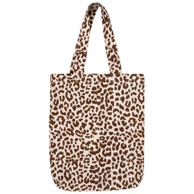 Leopard Canvas Shopper