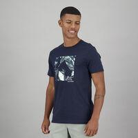 Men's Stefan Standard Fit T-Shirt -  navy