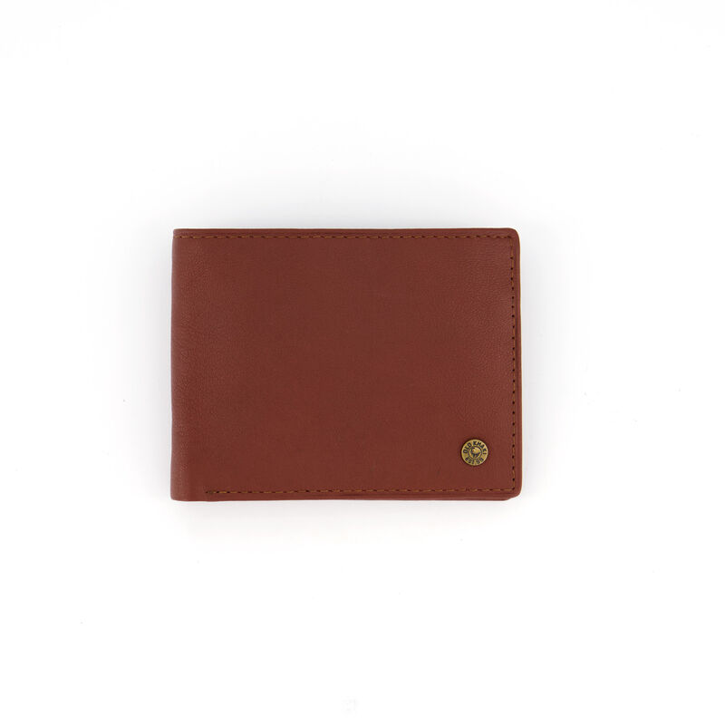Men's Dale Foldover Leather Wallet -  tan-tan
