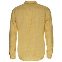 Dustin Linen Slim Fit Shirt -  yellow