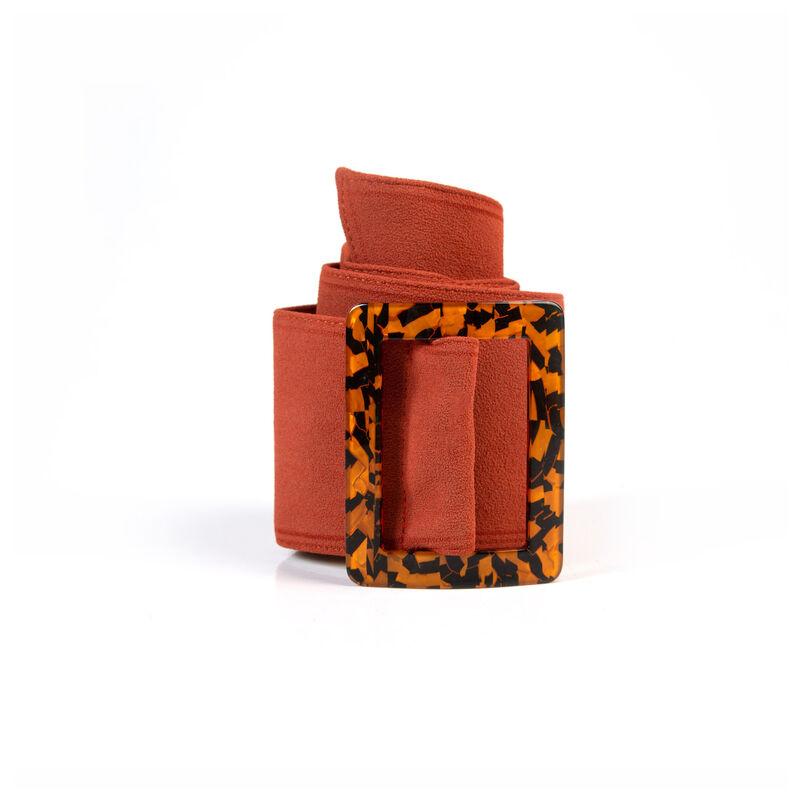 Women's Azariah Woven Belt -  rust
