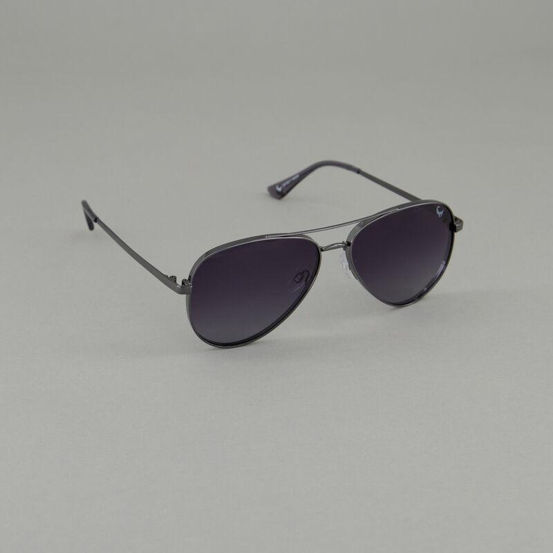 Old Khaki Women's Polarised Aviator Sunglasses -  charcoal-grey