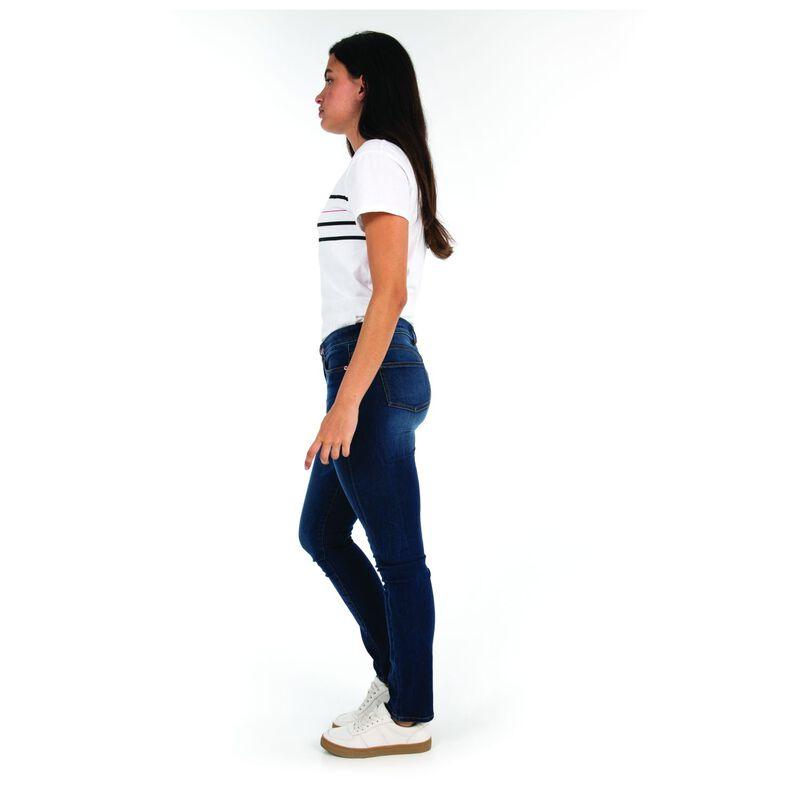 Brooklyn Women's Straight Leg Denim  -  navy