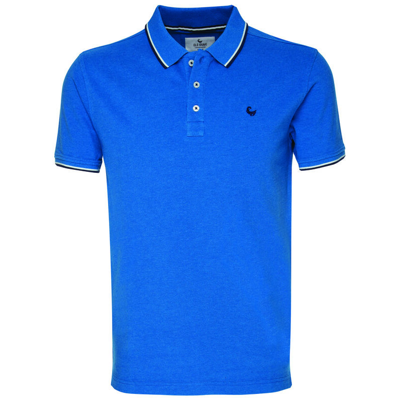 Rufus Men's Standard Fit Golfer -  blue