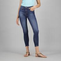 Women's Poppi Skinny Denim -  midblue