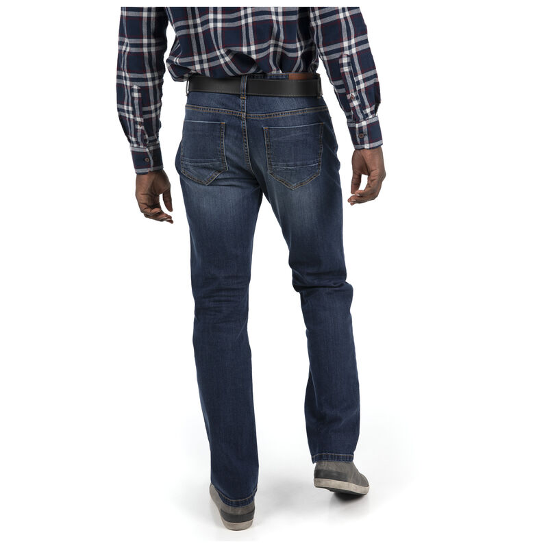 Old Khaki Men's Jordy Regular Straight Denim -  midblue
