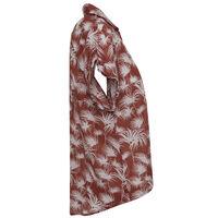 Micah Women's Tie-Front Shirt -  rust-milk