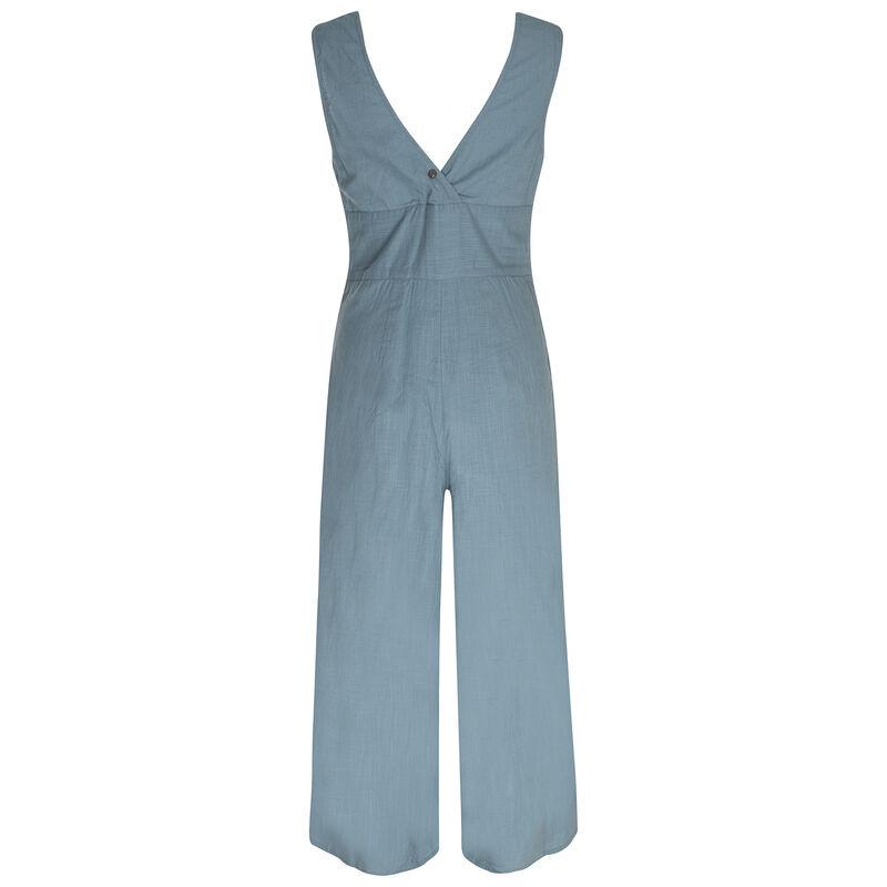 Camila Jumpsuit -  blue-assorted