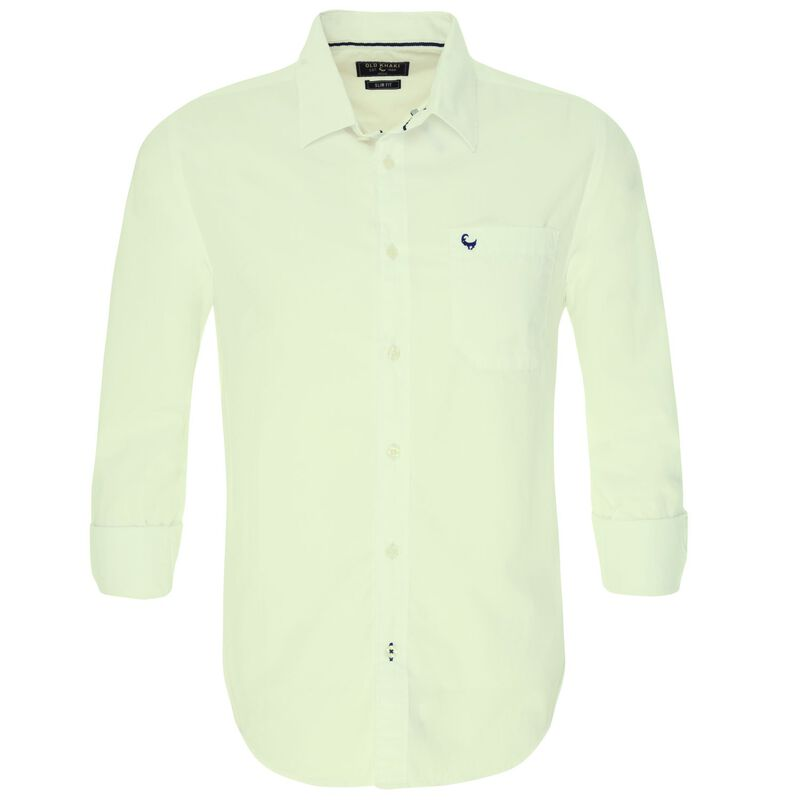Andy Men's Slim Fit Shirt -  white