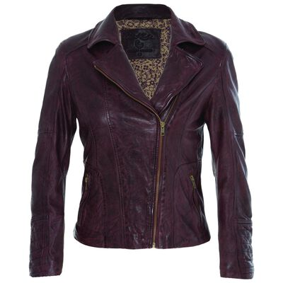 Evonne Women's Jacket Leather