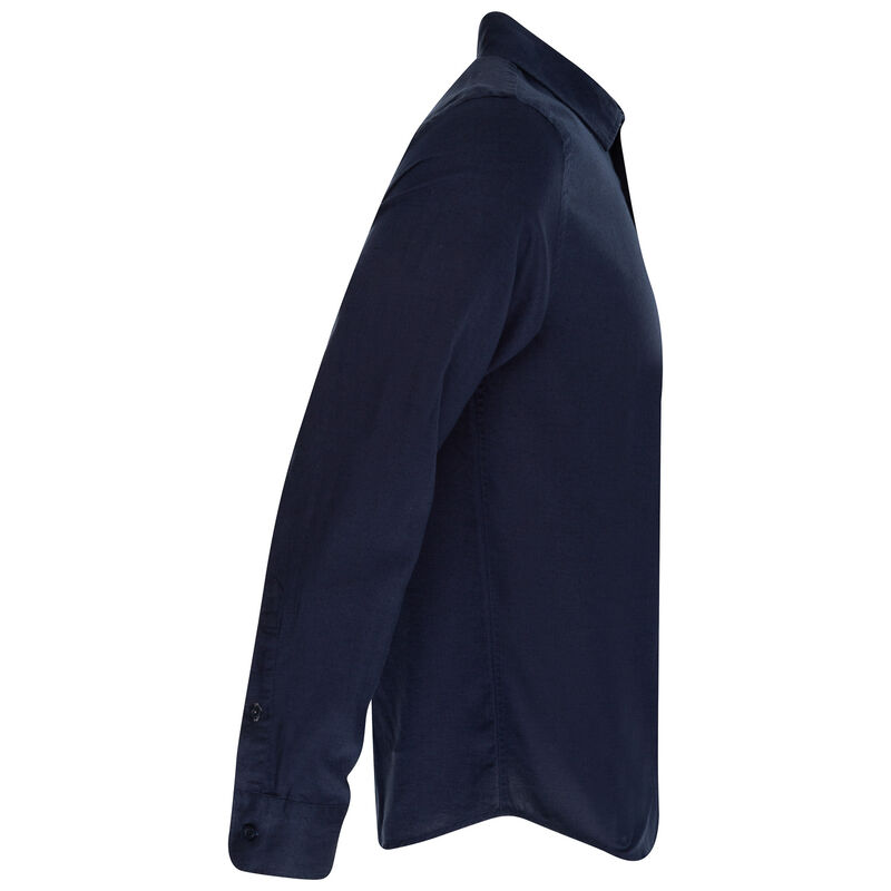 Lane Slim Fit Shirt -  navy