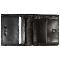 Colten Leather Wallet -  black