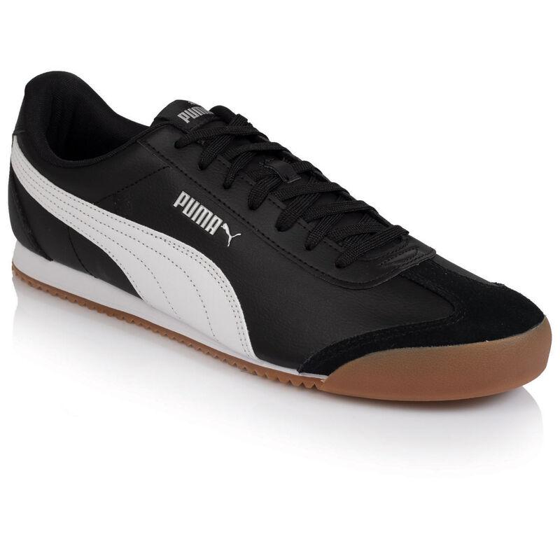 Men's Puma Turino Sneaker -  black-white