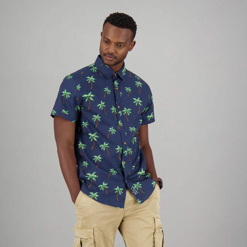 Men's Jeffery Shirt -  navy