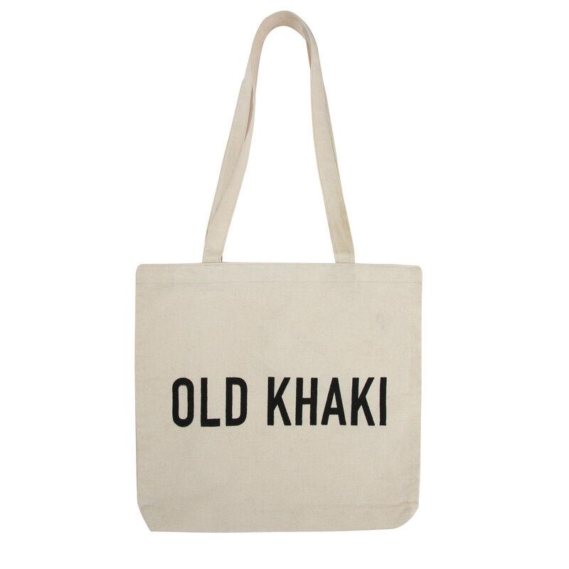 Old Khaki Canvas Shopper