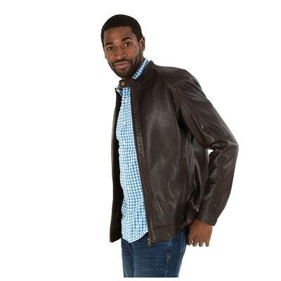 Old Khaki Men's Kenzo Leather Jacket