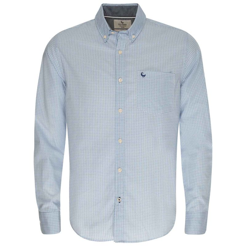 Rael Slim Fit Shirt -  blue