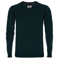Rustin Men's Pullover -  bottlegreen