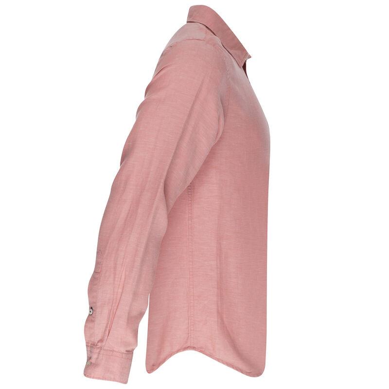 Lane Slim Fit Shirt  -  coral