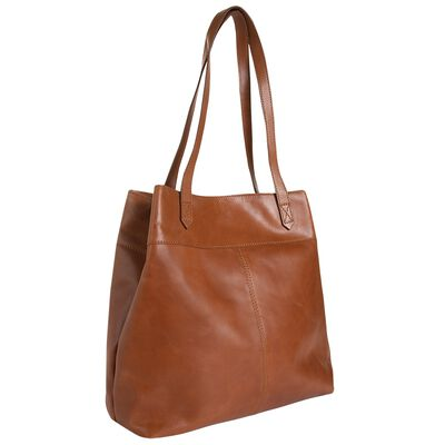Tenley Leather Shopper Bag