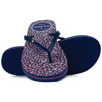 Old Khaki Women's Tide Flip Flops -  navy-red