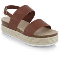 Women's Mishka Sandal -  tan