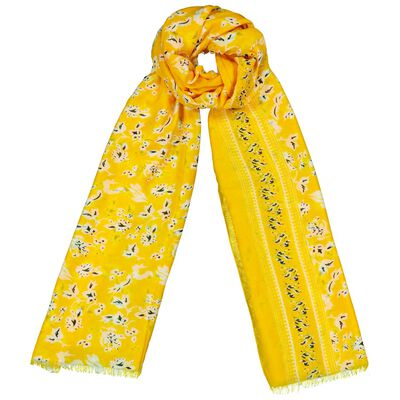 Electra Floral Paisley Scarf