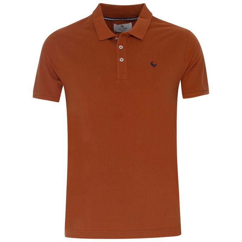 Old Khaki Men's Alex Standard Fit Golfer -  orange