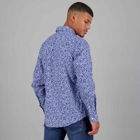Men's Simon Slim Fit Shirt -  navy