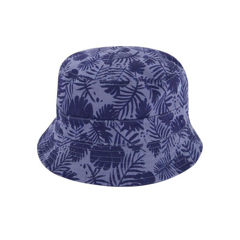 Men's Ernest Reversible Leafy Bucket Hat -  navy-blue