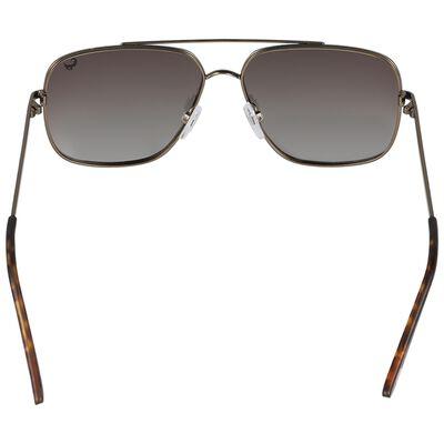 Men's Polarised Square Aviator Sunglasses