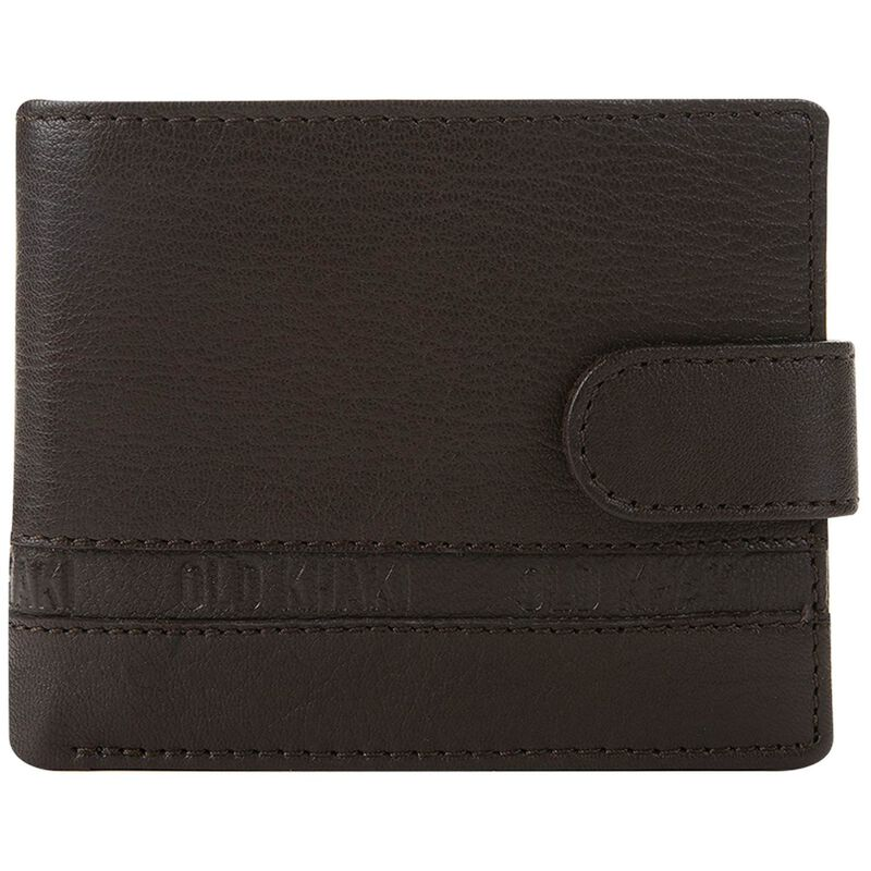 Christiano Leather Wallet -  brown