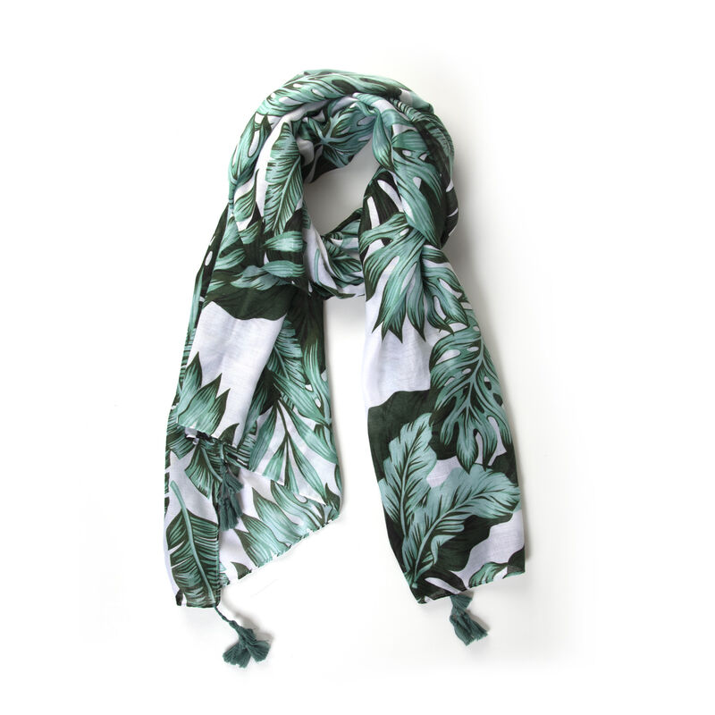 Women's Alora Tropical Scarf -  green-milk