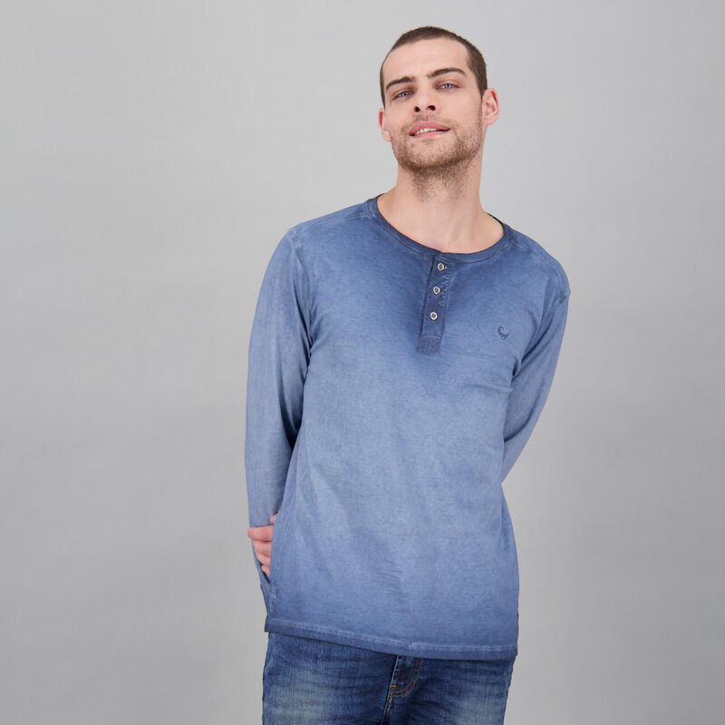 Men's Henderson Long Sleeve Standard Fit T-Shirt -  dc5400