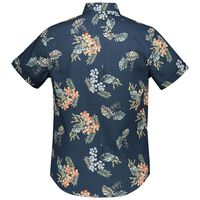 Musa Slim Fit Shirt  -  blue