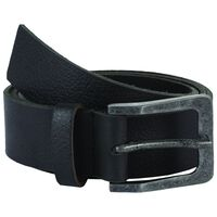 Bennett Leather Belt -  black-black