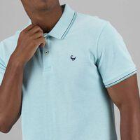 Men's Matty Standard Fit Golfer -  aqua