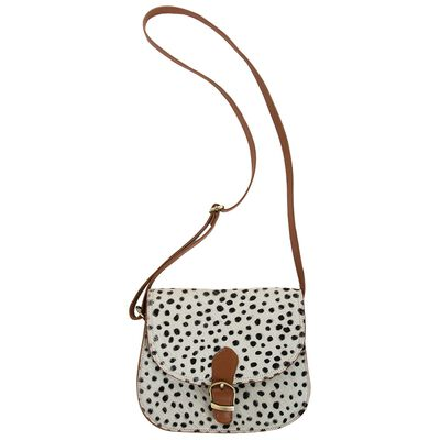 Kaiya Leather Saddle Bag