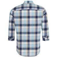 Joshua Regular Fit Shirt -  blue-yellow