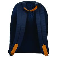 Dane Quilted Backpack -  navy-tan