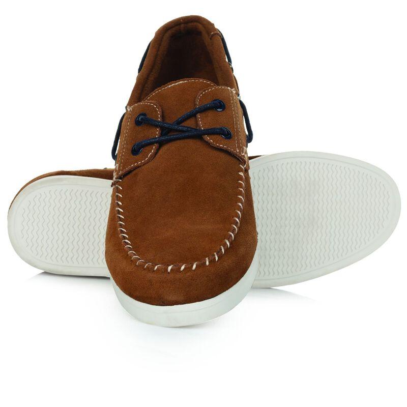 Old Khaki Men's Sammy Shoe -  tan-navy