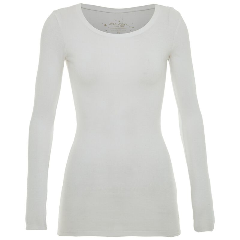 Estel Long Sleeve T-shirt  -  white