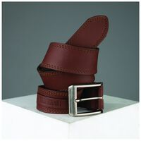 Lionel Tab Detail Belt -  brown