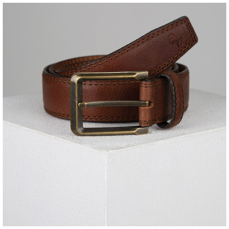 Huxley Leather Belt -  brown