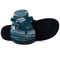 Men's Old Khaki Pacifico Flip Flops -  royal-white