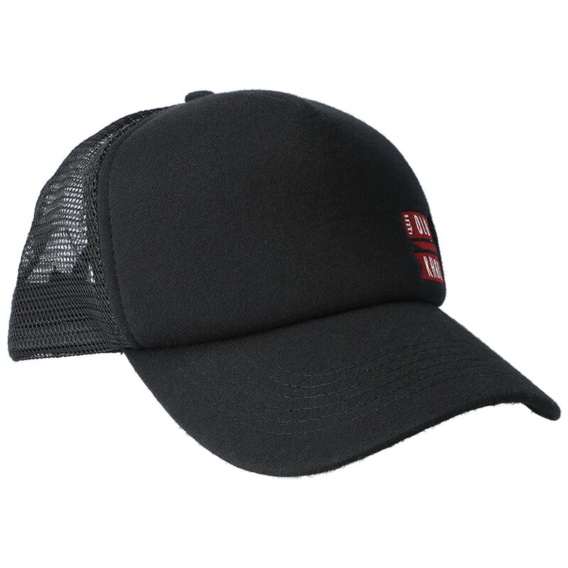 Shawn Peak Cap -  black-red