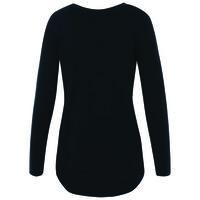 Emma Women's Long Sleeve T-Shirt -  navy