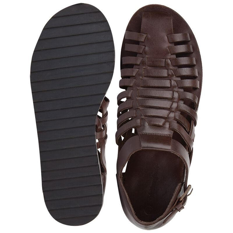 Arthur Jack Men's Zeus Sandal -  chocolate